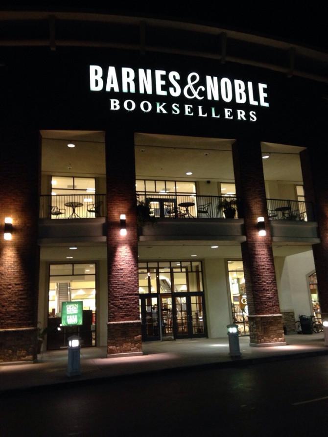 No getaway without Barnes & Nobles