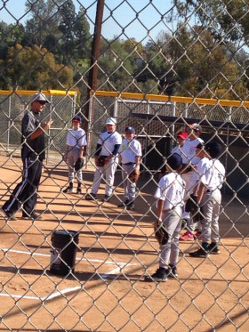 Atoms first day at the 1st MRLL baseball academy