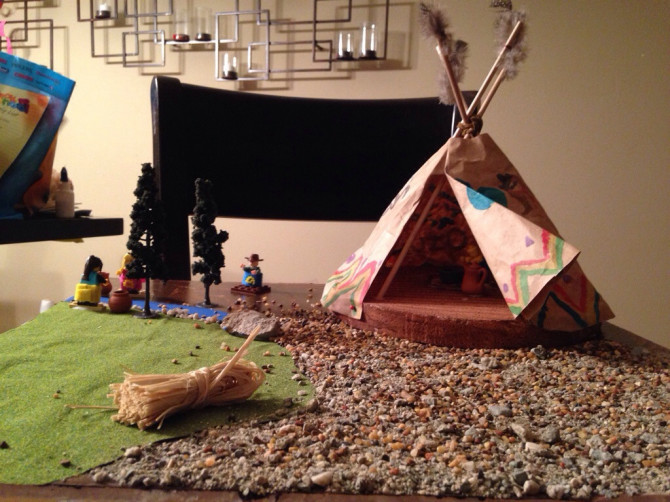 Marie's Indian tribe project