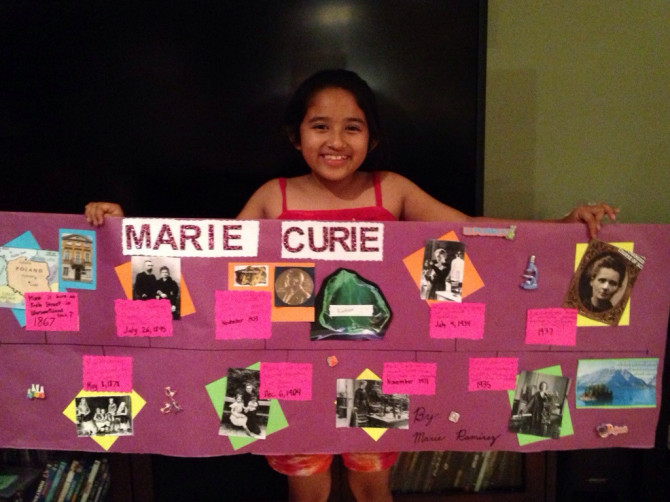 marie s marie curie timeline project
