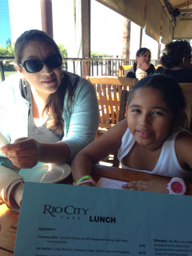 Lunch at Rio City Cafe