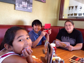 Breakfast before heading to redwood natl Forrest