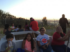 Astronomers for a day at Rio Hondo Observatory@ #gordondCrowellastrophysicalobservatory